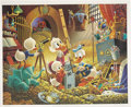 "Original Comic Art:Miscellaneous, Carl Barks - ""An Embarrassment of Riches"" Limited Edition Print, 340/395 (Another Rainbow, 1983).... (Total: 2 Items)"