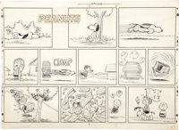 Charles Schulz - Peanuts Sunday Comic Strip Original Art, dated 7-26-59 (United Feature Syndicate, 1959)