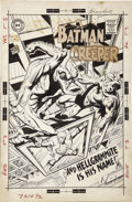 Original Comic Art:Covers, Neal Adams - The Brave and the Bold #80, Batman and the CreeperCover Original Art (DC, 1968).... (Total: 3 Items)