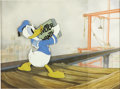 "Animation Art:Production Cel, ""The Riveter"" Animation Production Cel with Background Original Art(Walt Disney, 1940)...."