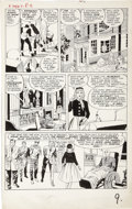 Original Comic Art:Panel Pages, Jack Kirby and Paul Reinman - X-Men #1, page 8 Original Art(Marvel, 1963)....