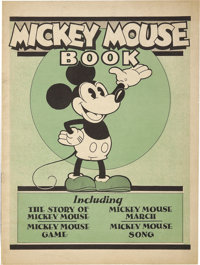 Mickey Mouse Book First Printing (Bibo & Lang, 1930) Condition: FN/VF