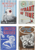 Books:First Editions, Four First Edition Fantasy Press Novels, including:... (Total: 4Items)