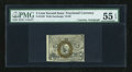 Fractional Currency:Second Issue, Fr. 1233 5c Second Issue with White Courtesy Autograph PMG About Uncirculated 55 EPQ....
