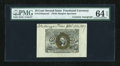 Fractional Currency:Second Issue, Fr. 1244SP 10c Second Issue Wide Margin Face with Morgan Courtesy Autograph PMG Choice Uncirculated 64 EPQ....