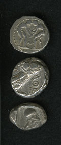 Ancients:Ancient Lots  , Ancients: Lot of three Greek AR.... (Total: 3 coins)