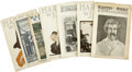 Books:Periodicals, Mark Twain. Seven Folio Volumes of Harper's Weekly with MarkTwain Material.... (Total: 7 Items)