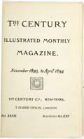 Books:Periodicals, Mark Twain. The Century Illustrated Monthly Magazine....(Total: 2 Items)