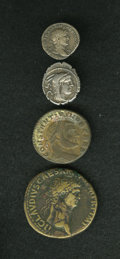 Ancients:Ancient Lots  , Ancients: Lot of four miscellaneous ancient coins.... (Total: 4coins)