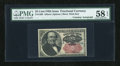 Fractional Currency:Fifth Issue, Fr. 1309 25c Fifth Issue with Morgan Courtesy Autograph PMG Choice About Unc 58 EPQ....