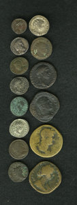 Ancients:Ancient Lots  , Ancients: Lot of fourteen miscellaneous ancient coins.... (Total:14 coins)