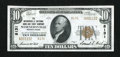 National Bank Notes:Pennsylvania, Wernersville, PA - $10 1929 Ty. 2 The Wernersville NB & TC Ch. # 8131. ...