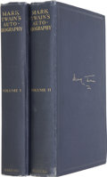 Books:First Editions, Mark Twain. Mark Twain's Autobiography....