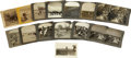 Photography:Stereo Cards, 13 Stereoviews Cowboys & Miscellaneous ca 1890s-1920s - ... (Total: 13 Items)