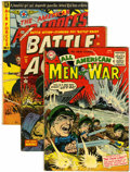 Golden Age (1938-1955):War, Miscellaneous Golden Age War Comics Group (Various Publishers,1952-55)....