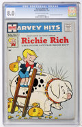 Silver Age (1956-1969):Humor, Harvey Hits #3 Richie Rich (Harvey, 1957) CGC VF 8.0 Off-white to white pages....