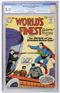 World's Finest Comics #94 (DC, 1958) CGC VF 8.0 Off-white to white pages