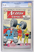 Silver Age (1956-1969):Superhero, Action Comics #304 (DC, 1963) CGC NM 9.4 Off-white to white pages....