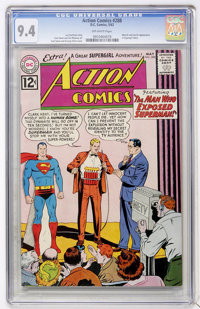 Action Comics #288 (DC, 1962) CGC NM 9.4 Off-white pages