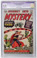 Silver Age (1956-1969):Superhero, Journey Into Mystery #83 (Marvel, 1962) CGC Apparent VG 4.0 Slight (A) Off-white to white pages....