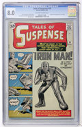 Silver Age (1956-1969):Superhero, Tales of Suspense #39 (Marvel, 1963) CGC VF 8.0 Off-white to whitepages....