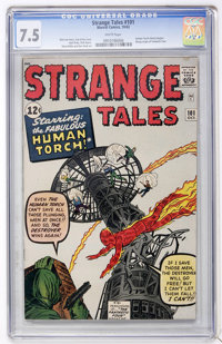 Strange Tales #101 (Marvel, 1962) CGC VF- 7.5 White pages