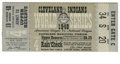 Baseball Collectibles:Tickets, 1948 World Series Game 4 Ticket Stub. Larry Doby's third inningsolo home run proved to be the deciding score in the Clevel...