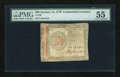 Colonial Notes:Continental Congress Issues, Continental Currency January 14, 1779 $60 PMG About Uncirculated55....
