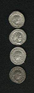 Ancients:Ancient Lots  , Ancients: Lot of four high grade double denarii.... (Total: 4 coins)