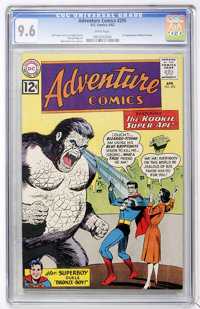 Adventure Comics #295 (DC, 1962) CGC NM+ 9.6 White pages