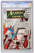 Silver Age (1956-1969):Superhero, Action Comics #296 (DC, 1963) CGC NM+ 9.6 White pages....