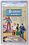 Silver Age (1956-1969):Superhero, Action Comics #283 (DC, 1961) CGC NM 9.4 Off-white pages....