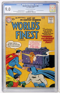 World's Finest Comics #88 (DC, 1957) CGC VF/NM 9.0 Off-white to white pages