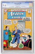 Silver Age (1956-1969):Superhero, Action Comics #306 (DC, 1963) CGC NM+ 9.6 Off-white to white pages....