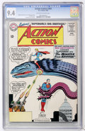 Silver Age (1956-1969):Superhero, Action Comics #303 (DC, 1963) CGC NM 9.4 Off-white to white pages....