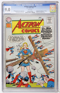 Action Comics #276 (DC, 1961) CGC VF/NM 9.0 White pages