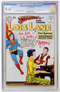 Superman's Girlfriend Lois Lane #9 (DC, 1959) CGC VF/NM 9.0 Off-white to white pages