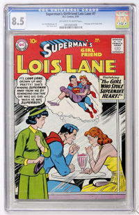 Superman's Girlfriend Lois Lane #7 (DC, 1959) CGC VF+ 8.5 Off-white to white pages