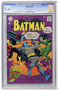 Batman #197 (DC, 1967) CGC NM 9.4 Cream to off-white pages