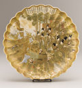 Asian:Japanese, A JAPANESE SATSUMA CHARGER. 19th Century. Marks: signedHotoda with the kiln mark on base. 15-1/8 inches (38.4 cm)diame...