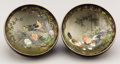Asian:Japanese, A PAIR OF JAPANESE SATSUMA BOWLS BY KINKOZAN. Meiji Period,1868-1912. Marks: each signed Kinkozan on the base. 5inches... (Total: 2 Items)