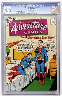 Adventure Comics #251 (DC, 1958) CGC NM- 9.2 Off-white pages