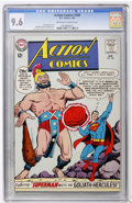 Silver Age (1956-1969):Superhero, Action Comics #308 (DC, 1964) CGC NM+ 9.6 Off-white to white pages....