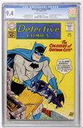Silver Age (1956-1969):Superhero, Detective Comics #292 (DC, 1961) CGC NM 9.4 Off-white to white pages....