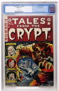 Golden Age (1938-1955):Horror, Tales From the Crypt #35 Gaines File pedigree 1/11 (EC, 1953) CGCNM+ 9.6 Off-white pages....