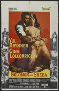 "Movie Posters:Drama, Solomon and Sheba (United Artists, 1959). One Sheet (25"" X 39.5""). Drama...."