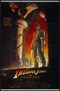 "Movie Posters:Adventure, Indiana Jones and the Temple of Doom (Paramount, 1984). One Sheet(27"" X 41"") Style A. Adventure...."