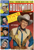 Magazines:Miscellaneous, Hollywood Pictorial Western #4 (St. John, 1950) Condition:VG/FN....