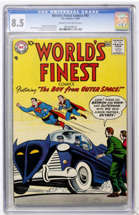 World's Finest Comics #92 (DC, 1958) CGC VF+ 8.5 Cream to off-white pages