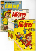 Silver Age (1956-1969):Humor, Playful Little Audrey File Copies Box Lot (Harvey, 1958-76) Condition: Average NM-.... (Total: 106 Comic Books)